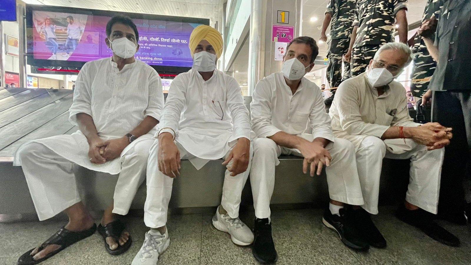 lakhimpur kheri violence Punjab Congress leads to lakhimpur  - Satya Hindi